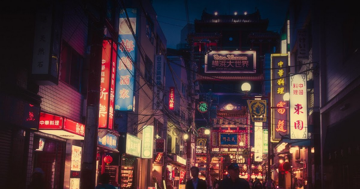 These Night Life Photos Of Tokyo Look Like They Came Straight Out Of An Anime Koreaboo