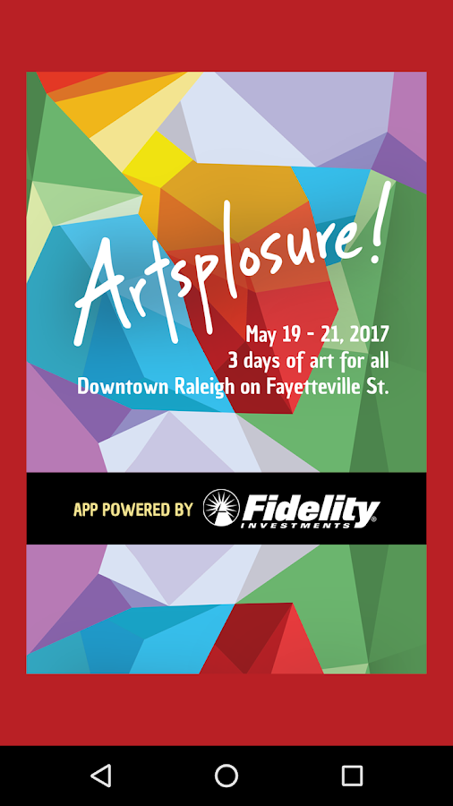 Artsplosure 2017- screenshot