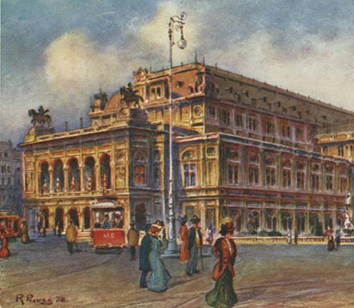 Studie für den Neubau der k.k. Akademie der bildenden Künste Wien (1898)