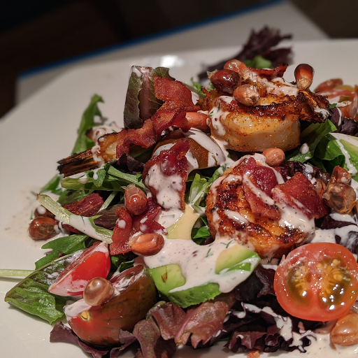 Blackened Gulf Shrimp Salad