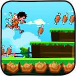Game pirates luffy run icon