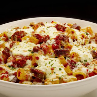 Baked Pasta With Meat Sauce And Cheese Recipes