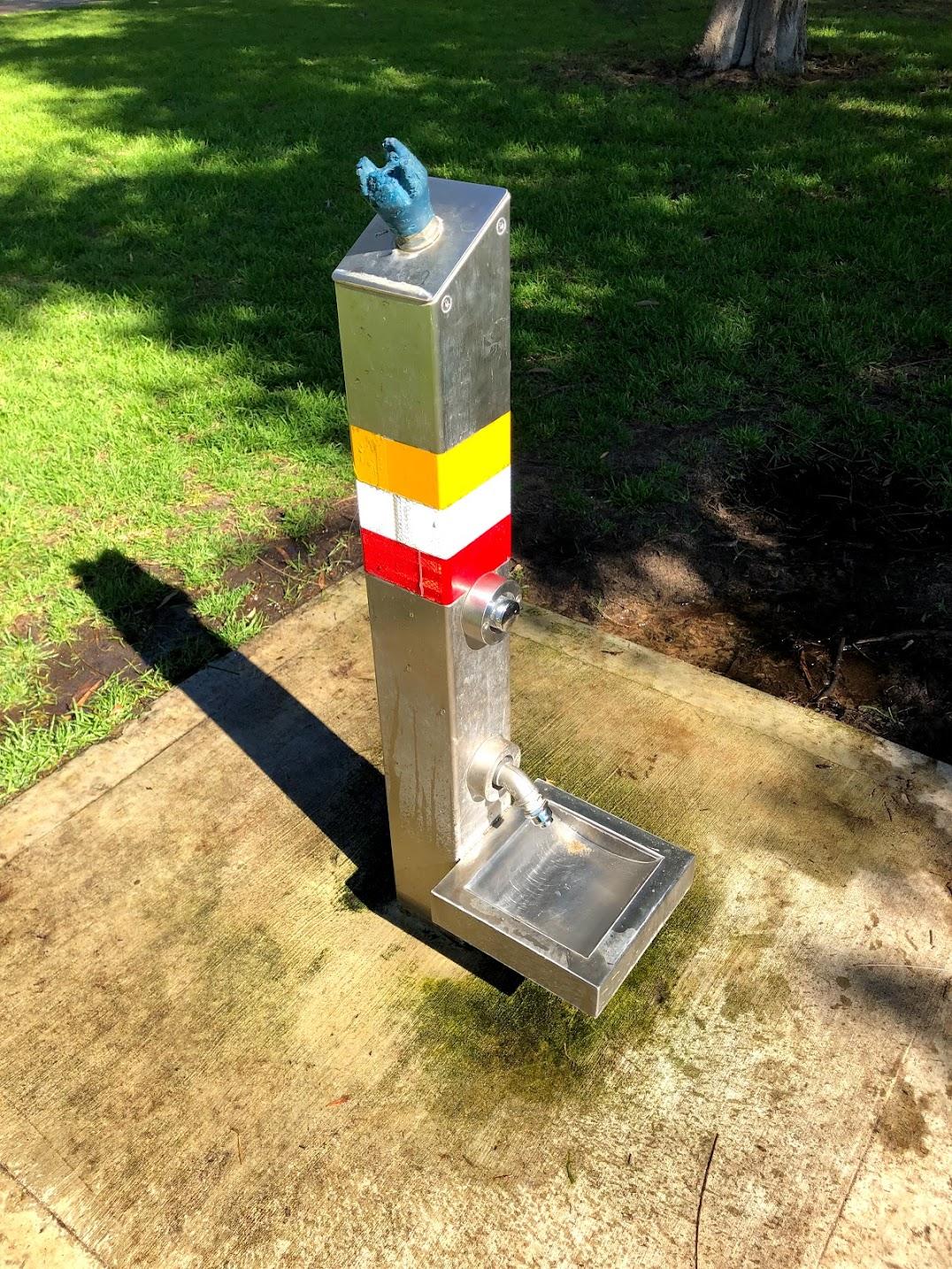 パース公園犬の水飲み場