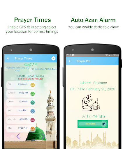 Muslim Prayer Pro with Azan, Quran & Qibla Compass screenshot 2