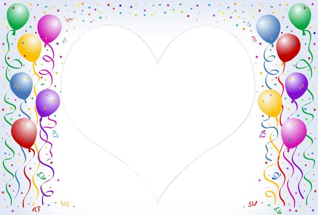 Birthday Frame Design - Blueridge Wallpapers