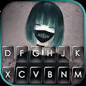 Anime Mask Girl Keyboard Theme icon