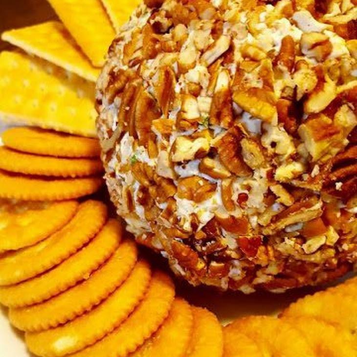 Bacon Cheddar Ranch Cheese Ball