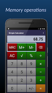 Simple Calculator- screenshot thumbnail