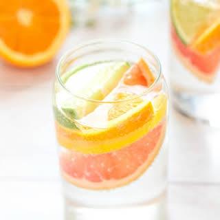 Sparkling Citrus Coconut Water.