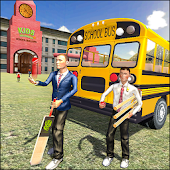 Off Road School Bus : Uphill Driving Simulator