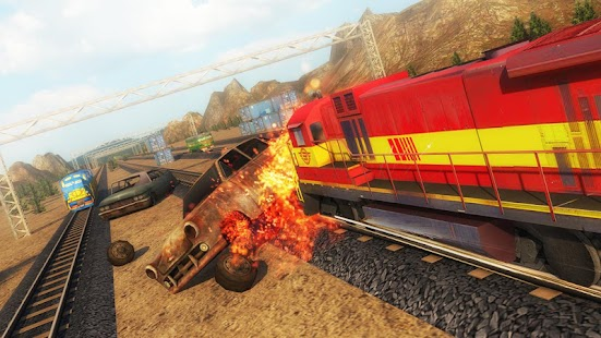 Chained Trains 3D - Multiplayer Racing - náhled