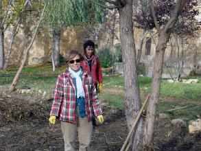 Photo: Dos voluntarias de Zamora