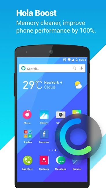 #4. Hola Launcher- Theme,Wallpaper (Android)