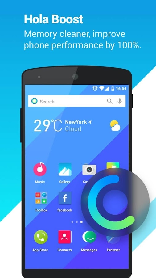 Hola Launcher- Theme,Wallpaper- screenshot