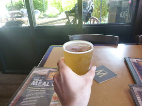 Photo: ordered a Molson Canadian in Canada