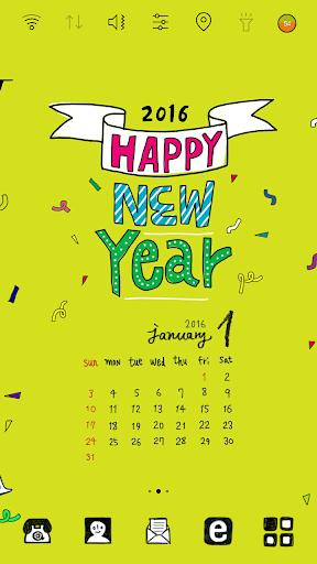 每月更新日历 桌面主题