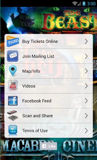 Full Moon Ticketing App Screenshot