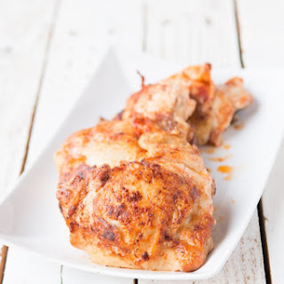 Easy Roasted Chicken Thighs.