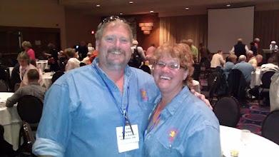 Photo: Jim and Mimi