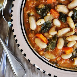Ribollita Inspired Bean Stew