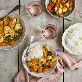Winter Vegetable Curry.