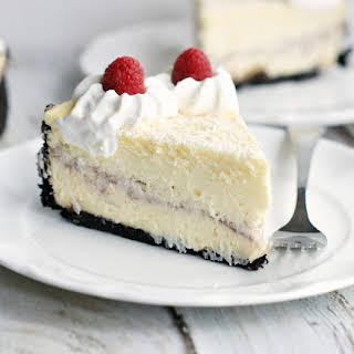 White Chocolate Raspberry Cheesecake (Cheeseake Factory Copycat).