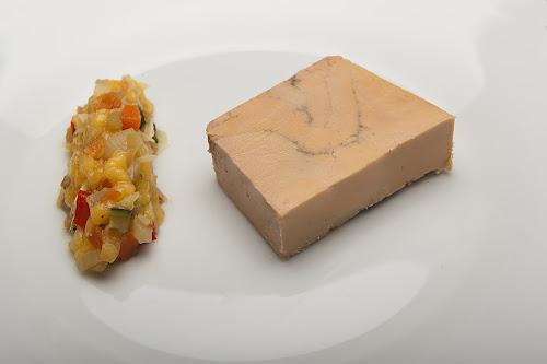 foie gras du restaurant à Pontoise L'arbre Blanc