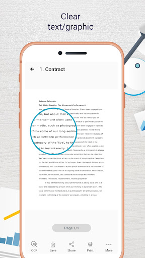 Easy Scanner - Camera to signed PDF 3.6.1 Screenshots 4