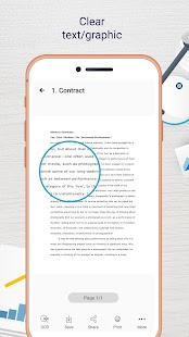 Easy Scanner - Camera to signed PDF Screenshot