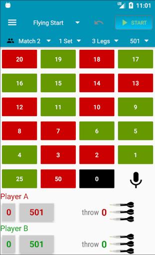 Darts Scorecard APK MOD screenshots 2