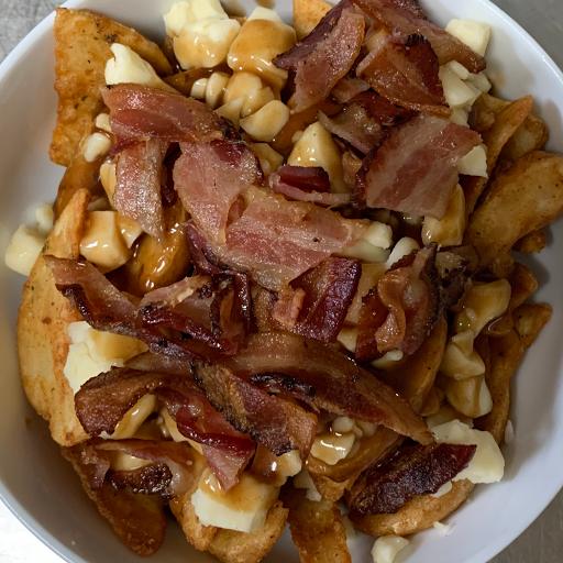 Double Bacon Poutine