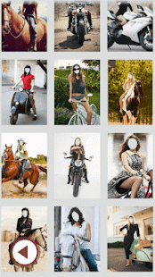 dívky na koni fotorámečky - náhled