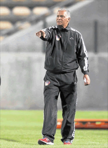 'I NEED COMMITMENT': Chippa United coach Farouk Abrahams