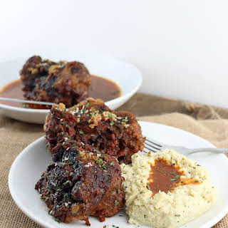 Keto Slow Cooker Braised Oxtails.