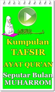 Kumpulan Tafsir Ayat Qur'an Seputar Bulan Muharom - náhled