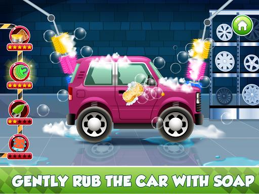 Télécharger Enfants Car Wash Salon et service Garage APK MOD (Astuce) screenshots 4