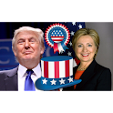Clinton vs Trump Election 2016 icon