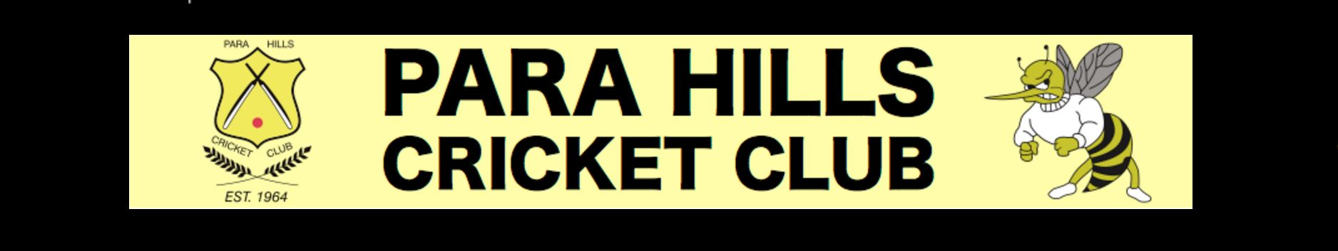Referral From Para Hills Cricket Club