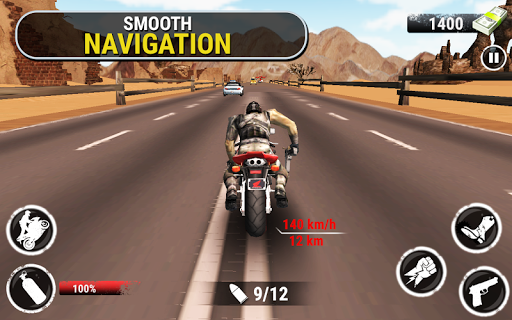 Rodovia Stunt Bike Rider