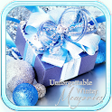New Year Blue Lights icon