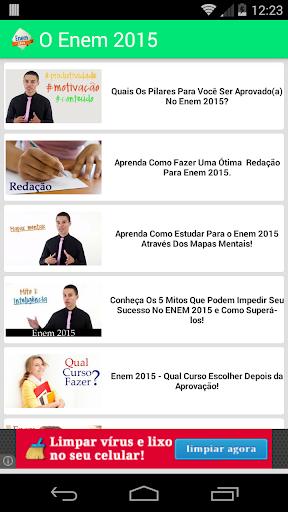 Enem 2015 Vídeos Preparatórios