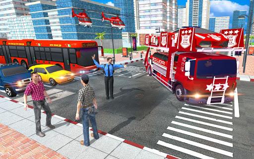 US Police Quad Bike Car Transporter Games 1.0.2 screenshots 6