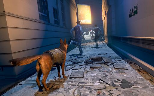 US Police Dog Crime Chase - Police Dog Simulator  captures d'écran 1