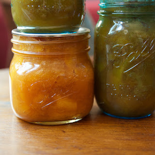 Lazy Peach Preserves