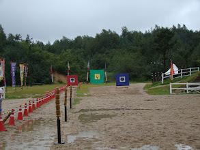 Photo: Ziele für den Wettkampf zu Boden