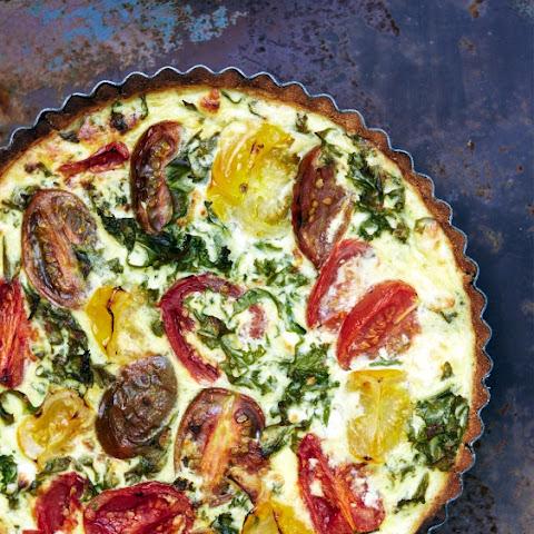 Gluten Free Roasted Tomato + Feta Tart Recept   Yummly