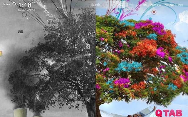 Nature Four Seasons Wallpapers FullHD New Tab
