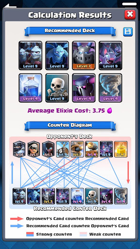 Counter Deck Generator for Clash Royale 2.0.0 PC u7528 2