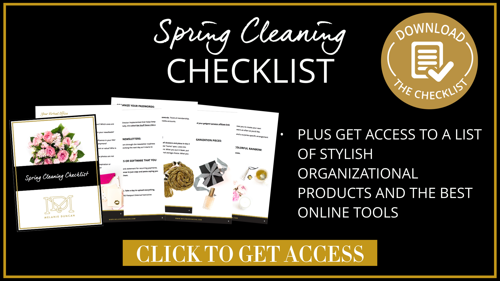 how to spring clean your business all these ideas are organized some bonus recommended products tools in the spring cleaning checklist for your business