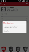 Screenshot of Messagerie Vocale Visuelle
